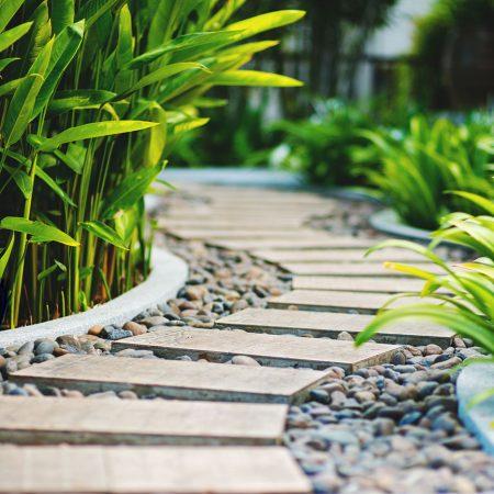 Allée jardin La Baule Guérande Pornichet Saint Nazaire