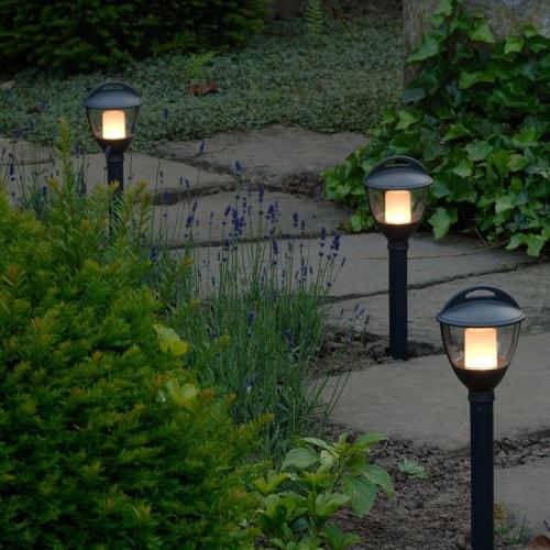 Eclairage jardin La Baule Guérande Pornichet Saint Nazaire