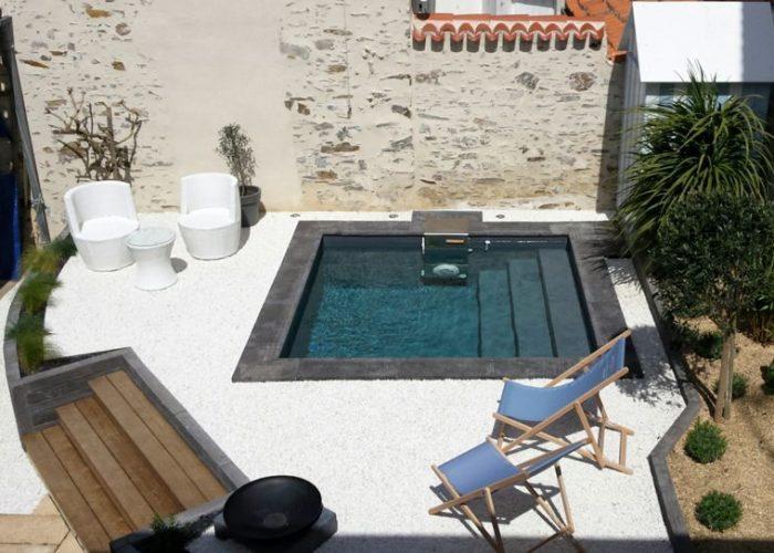 piscine urbaine rénovation piscine La Baule Guérande Pornichet Saint Nazaire