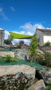 Voile ombrage La Baule Guérande Saint Nazaire